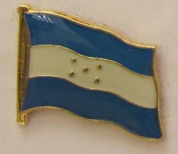 Honduras Pin Anstecker Flagge Fahne Nationalflagge