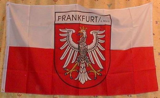Flagge Fahne Frankfurt am Main frankfurter Stadtflagge Frankfurtflagge