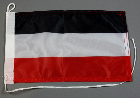 Bootsflagge : Deutschland Kaiserreich 30x20 cm Motorradflagge