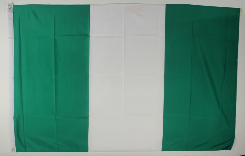 Flagge Fahne Nigeria Nigeriaflagge Nationalflagge Nationalfahne
