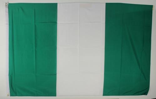 Nigeria Flagge Großformat 250 x 150 cm wetterfest