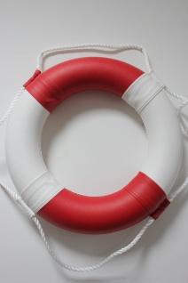 Rettungsring 60 cm rot weiß