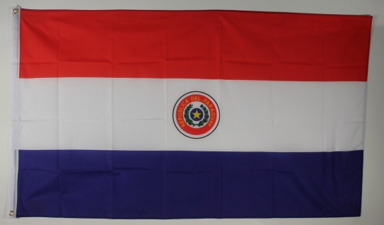 Flagge Fahne : Paraguay Paraguayflagge Nationalflagge Nationalfahne