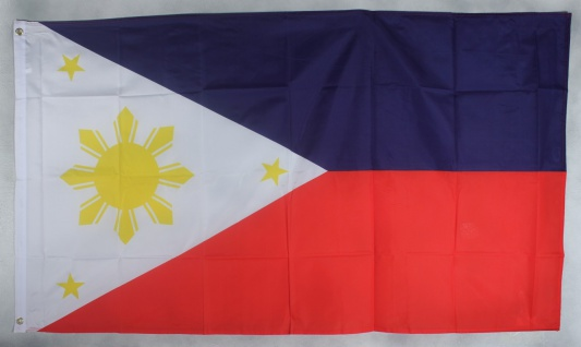 Flagge Fahne : Philippinen Nationalflagge Nationalfahne
