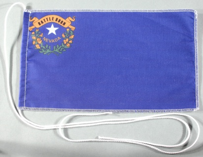 Tischflagge Nevada USA Bundesstaat US State 25x15 cm optional mit Holz- oder ...