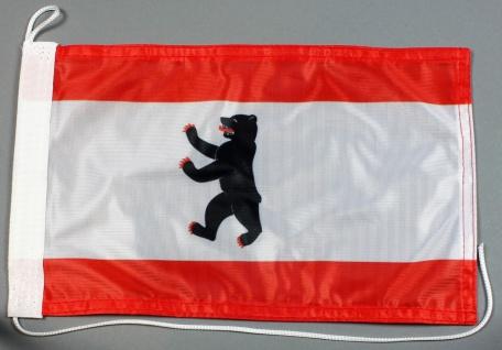 Bootsflagge : Berlin 30x20 cm Motorradflagge