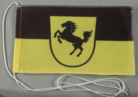 Tischflagge Stuttgart Stadtflagge 25x15 cm optional mit Holz- oder Chromständ...