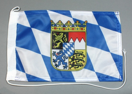 Bootsflagge : Bayern 30x20 cm Motorradflagge