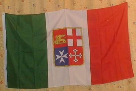 Flagge Fahne : Italien Staatswappen Italienflagge Wappen