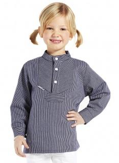 Kinder Fischerhemd schmalgestreift Kinderkleidung Hemd alle Größen original M...