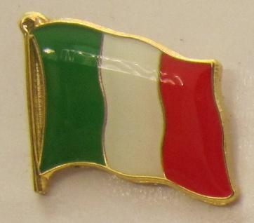 Pin Anstecker Flagge Fahne Italien