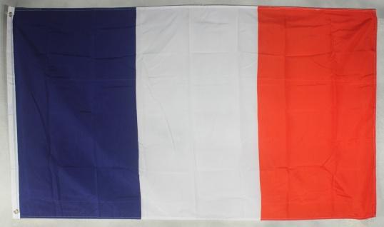 Frankreich Flagge Großformat 250 x 150 cm wetterfest