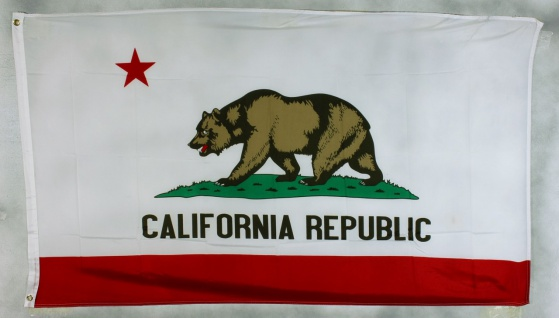 Kalifornien Flagge Großformat 250 x 150 cm wetterfest