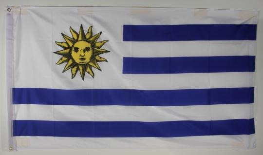 Uruguay Flagge Großformat 250 x 150 cm wetterfest