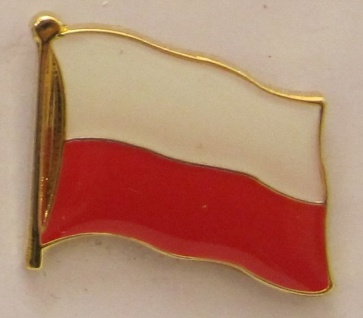 Pin Anstecker Flagge Fahne Polen Nationalflagge