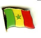 Senegal Pin Anstecker Flagge Fahne Nationalflagge