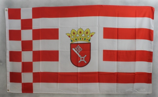 Bremen Flagge Großformat 250 x 150 cm wetterfest