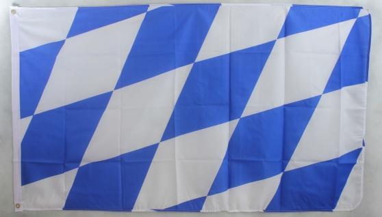 Bayern große Rauten Flagge Großformat 250 x 150 cm wetterfest