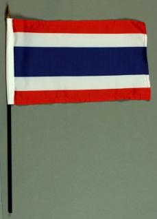 Tischflagge Thailand 15x25 cm BASIC optional mit Tischflaggenständer