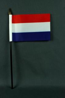 Kleine Tischflagge Niederlande Holland 10x15 cm optional mit Tischfähnchenstä...