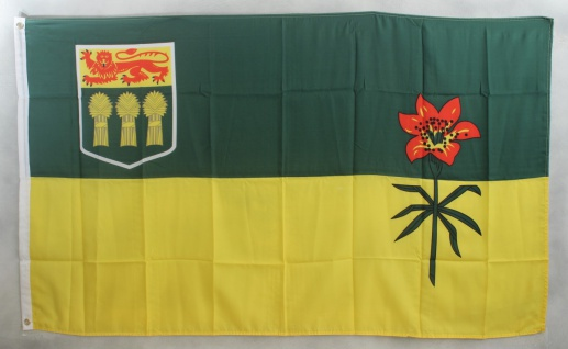 Flagge Fahne : Saskatchewan Kanada