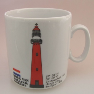 Leuchtturm Becher Hoek van Holland Niederlande
