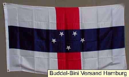 Flagge Fahne : Niederländisch Antillen Nationalflagge Nationalfahne