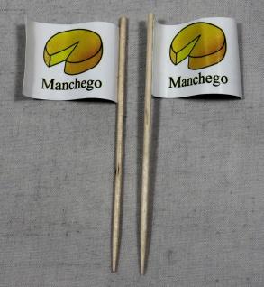 Party-Picker Flagge Manchego Käse Papierfähnchen in Spitzenqualität 50 Stück ...