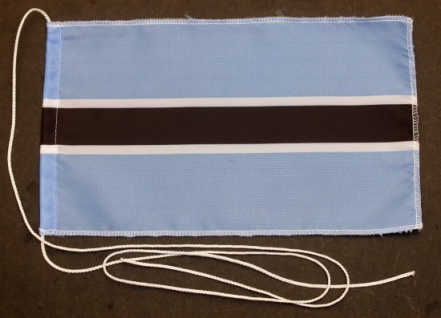 Tischflagge Botswana 25x15 cm optional mit Holz- oder Chromständer Tischfahne...