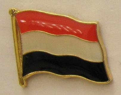 Jemen Pin Anstecker Flagge Fahne Nationalflagge - Vorschau