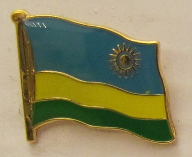 Ruanda Pin Anstecker Flagge Fahne Nationalflagge - Vorschau