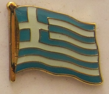 Pin Anstecker Flagge Fahne Griechenland Nationalflagge Flaggenpin Button Badg...