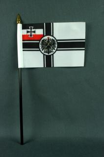 Kleine Tischflagge Kaiserliche Marine Reichskriegsflagge RKF 10x15 cm optiona...
