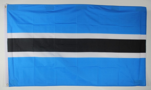 Flagge Fahne : Botswana Botswanaflagge Nationalflagge Nationalfahne