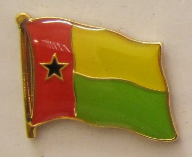 Guinea Bissau Pin Anstecker Flagge Fahne Nationalflagge