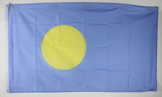 Flagge Fahne : Palau Nationalflagge Nationalfahne