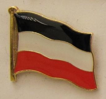 Pin Anstecker Flagge Fahne Deutsches Kaiserreich Deutschland Flaggenpin Butto...