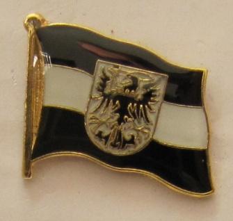 Pin Anstecker Flagge Fahne Westpreussen West Preußen