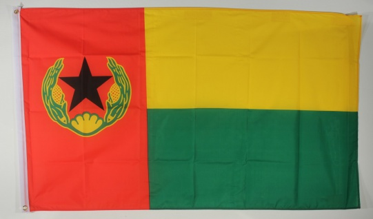 Flagge Fahne : Guinea Bissau Nationalflagge Nationalfahne