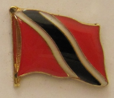 Trinidad und Tobago Pin Anstecker Flagge Fahne Nationalflagge