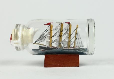 PEKING Museumsschiff aus Hamburg Mini Buddelschiff 10 ml 5x2 cm Flaschenschiff - Vorschau 2