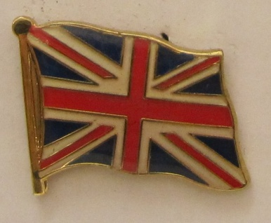 Pin Anstecker Flagge Fahne Großbritannien Union Jack Nationalflagge Flaggenpi...