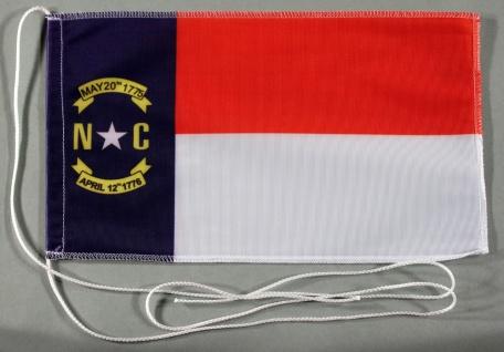 Tischflagge North Carolina USA Bundesstaat US State 25x15 cm optional mit Hol...