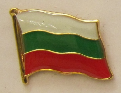 Pin Anstecker Flagge Fahne Bulgarien Nationalflagge Flaggenpin Button Badge F...