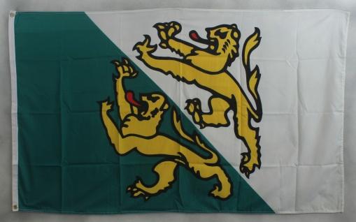 Flagge Fahne : Thurgau Schweiz Thurgauflagge