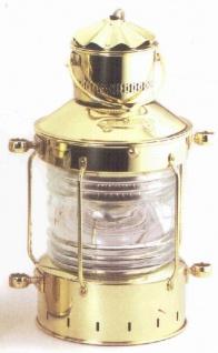 Schiffslampe Ankerlampe Messing