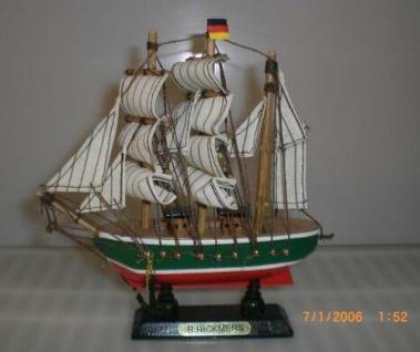 Schiffsmodell Rickmer Rickmers Modellschiff Schiffsmodelle