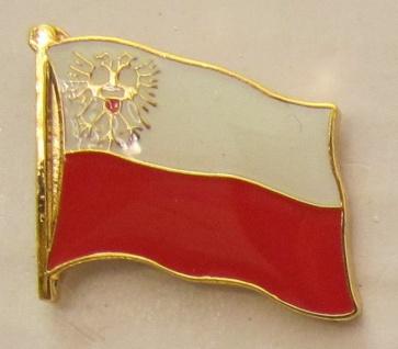 Pin Anstecker Flagge Fahne Lübeck Stadtflagge