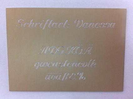 Tischglocke Holz / Messing mittel Handglocke H: 18cm, Ø: 7, 5cm Glocke - Vorschau 4