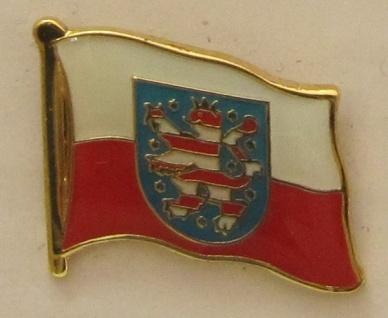 Pin Anstecker Flagge Fahne Thüringen